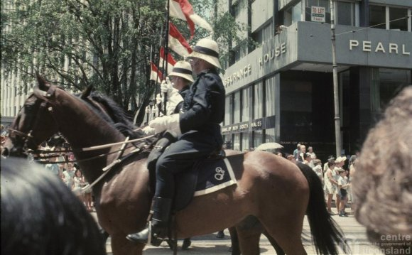 Queensland Mounted Police at