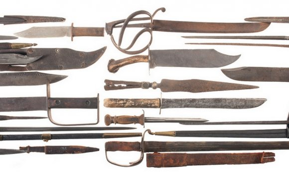 Civil War Weapons - The Edged