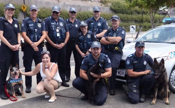 Police help fulfil bucket list