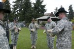 Blackhawks say farewell to commander, command sergeant major