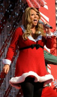 Christmas cracker: Mariah Carey's All I Want For Christmas Is You was voted the third best Christmas song