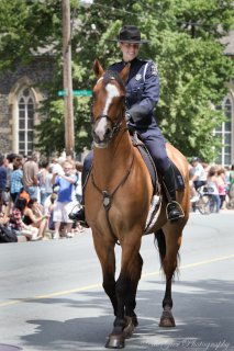 Cruise and Diane Woodward, Halifax Regional Police Mounted Unit