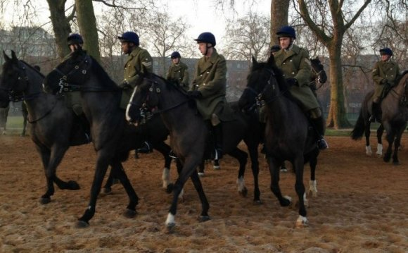 Household Cavalry Blues and Royals