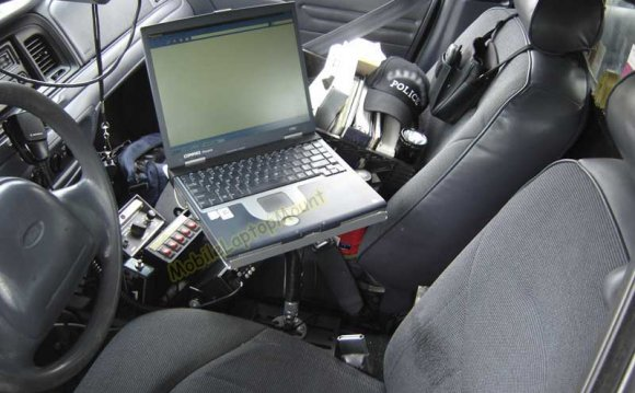 Police car Laptop Mounts