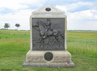 Monument to the 9th New York Cavalry at Gettysburg