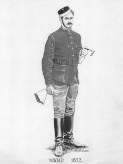 North West Mounted Police Uniform, 1873