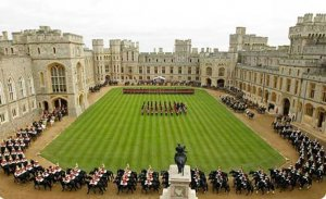 Soveriegns escort at Windsor Castle