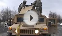 1-87IN Global Response Force Training (Mounted Patrol and