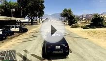GTA V San Andreas Mounted Police Clan Track Testing