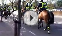 Horse back Police in London