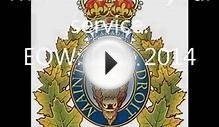 In Memoriam: The Royal Canadian Mounted Police RCMP