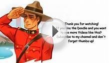North West Mounted Police RCMP - Google Doodle Video with