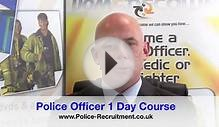 Police Officer Course - 1 Day Recruitment Course In UK