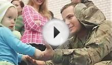 Soldiers from 2D Cavalry Regiment, 1st Squadron return home