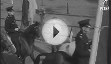 Training Police Horses - Imber Court (1948)