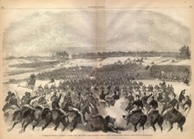 Waud Illustration - Brandy Station